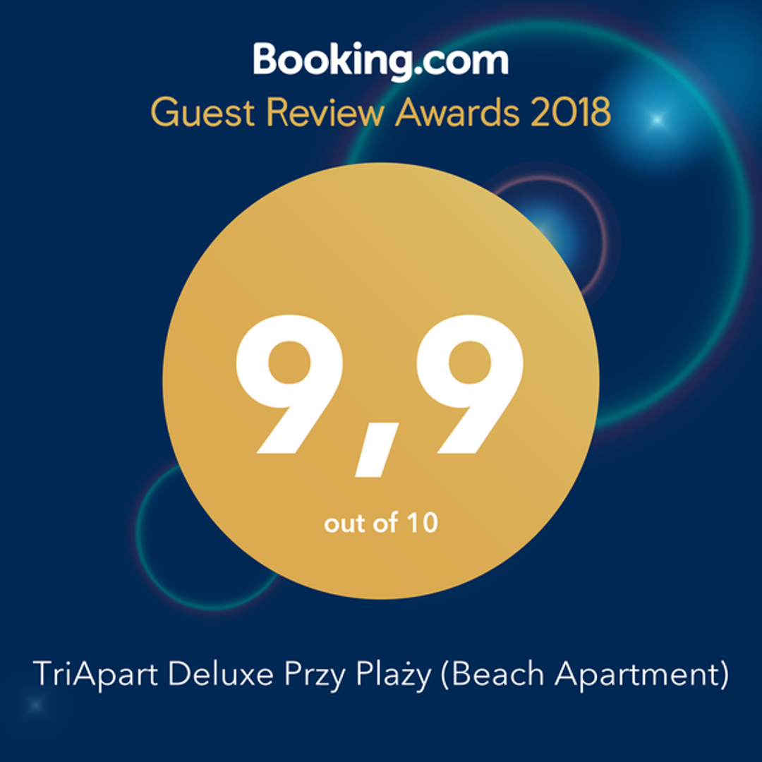 Wynajem apartamentów TriApart Nagroda Booking.com